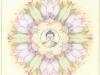 Lotus met Boeddha hoofd